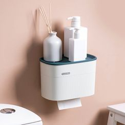 Home Simply - Adhesive Toilet Roll Wall Organizer