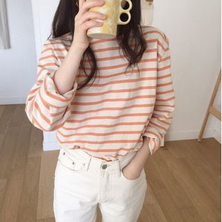KiTi - Long-Sleeve Striped T-Shirt