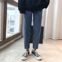 Avilion(アヴィリオン) - Straight-Cut Jeans