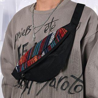 SUNMAN - Canvas Patterned Sling Bag