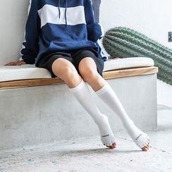 Abarana - Knee High Half-Toe Yoga Socks