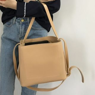 Barba - Faux Leather Shoulder Bag