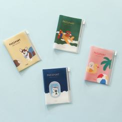 iswas - ''Daily Like'' Series Illustrated Passport Case