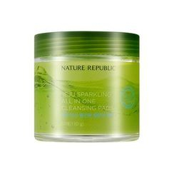 NATURE REPUBLIC - Jeju Sparkling All In One Cleansing Pads 60pcs