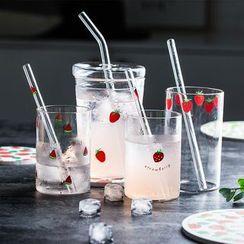 Yomerto - Fruits Printed Drinking Glass