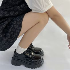 SouthBay Shoes(サウスベイシューズ) - Platform Lace Up Oxfords