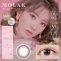 PIA - Molak 1-Day Color Lens Sakura Petal 10 pcs