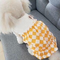 Krixo - Checker Pet Dress