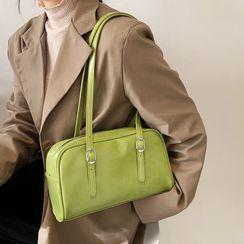 Hydracinthe - Faux Leather Shoulder Bag