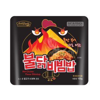 Easybab - Korean Bibimbap Hot Chicken Flavor 100g