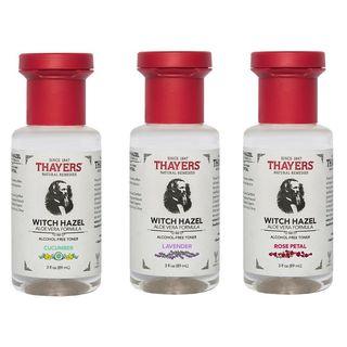 THAYERS - Alcohol-Free Witch Hazel With Aloe Vera Toner Trial Size, 3 fl oz (3 Types)