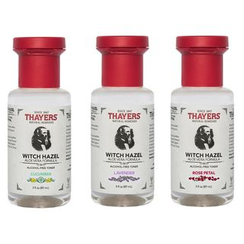 THAYERS - Alcohol-Free Witch Hazel With Aloe Vera Toner in Probegröße, 3 fl. oz. (3 Sorten)