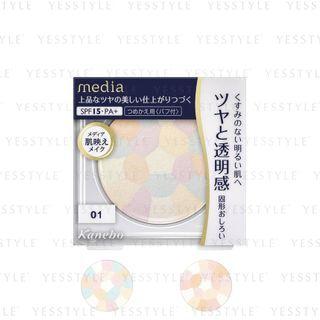Kanebo - Media Bright Up Powder SPF 15 PA+ - 2 Types