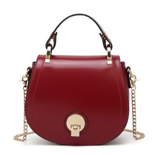 Annmuu - Faux-Leather Flap Satchel