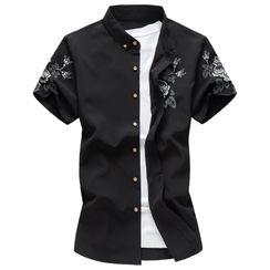 Fireon - Short-Sleeve Floral Shirt