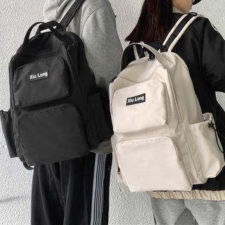 Gokk(ゴック) - Lettering Nylon Backpack
