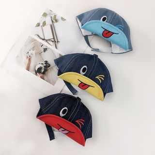 Meridion - Kids Cartoon Denim Cap