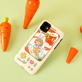 Milk Maid - Game Print Mobile Case - iPhone 7 / 7 Plus / 8 / 8 Plus / X/ XR / XS / XS MAX / 11 / 11 Pro / 11 Pro Max