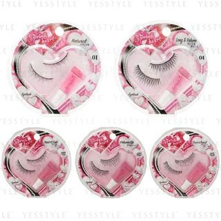 Koji - Spring Heart Eyelash 1 pair - 12 Types