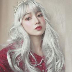 Princess Nine - Wavy Long Full Wig with Hair Care Kit