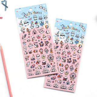 Katiz - 熊貓日記貼紙