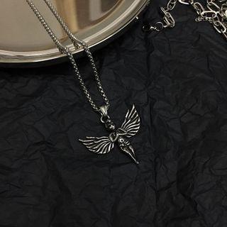 Koiyua - Couple Matching Angel Necklace