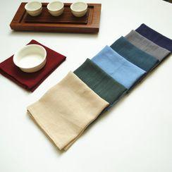 Rabenda - 纯色茶巾