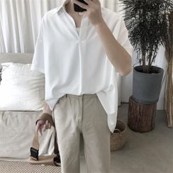 emeisa - Plain Short-Sleeve Shirt