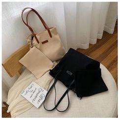 Miloes - Set: Canvas Tote Bag + Pouch