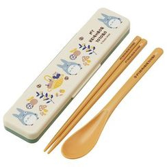Skater - My Neighbor Totoro Cutlery Set with Case