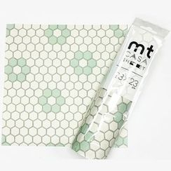 mt - mt Masking Tape : mt CASA Sheet 230mm Tile Hexagon (3 Sheets)