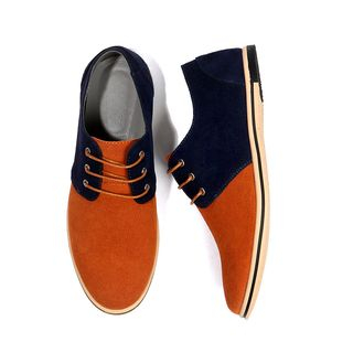 Taragan - Genuine Leather Lace-Up Desert Shoes