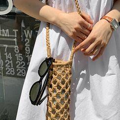 FROMBEGINNING - Net Mini Crossbody Bag