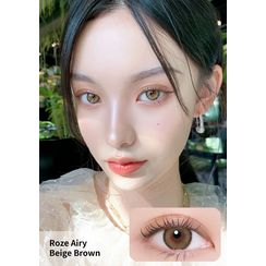 i - DOL - Roze Airy Monthly Color Lens #Beige Brown