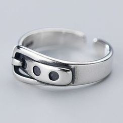 A'ROCH(エーロック) - 925 Sterling Silver Belt Buckle Ring