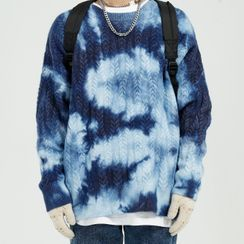 FAERIS - Tie-Dye Print Sweater