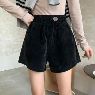 Moon City - High-Waist Shorts