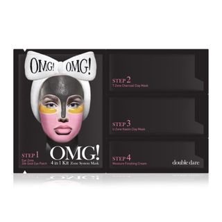double dare - OMG! 4 In 1 Kit Zone System Mask