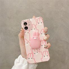 Zone Zero - Squishy Rabbit Phone Case - iPhone 12 Pro Max / 12 Pro / 12 / 12 mini / 11 Pro Max / 11 Pro / 11 / SE / XS Max / XS / XR / X / SE 2 / 8 / 8 Plus / 7 / 7 Plus