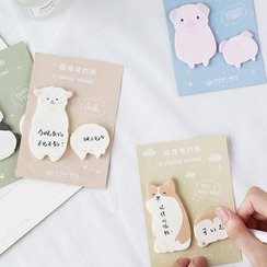 OH.LEELY - Animal Sticky Note (Various Designs)