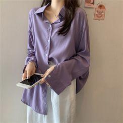 Moon City - Long-Sleeve Shirt