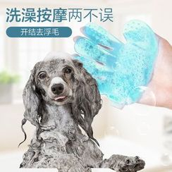 IKR - Plastic Pet Massage Glove