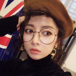 MOL Girl - Round Metal Glasses