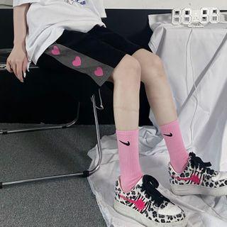 Giuliana - Heart Print Shorts