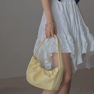 NiniChloe - Faux Leather Mini Shoulder Bag