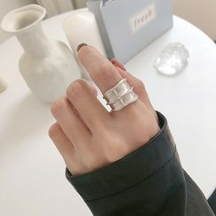 Assisi(アッシジ) - 925 Sterling Silver Irregular Open Ring