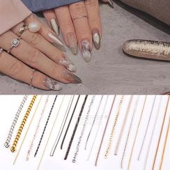 Monoe - Chain-Accent Nail Art Decoration