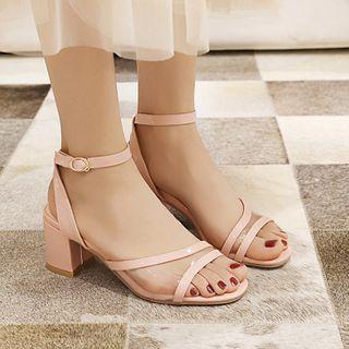Megan - Block Heel Sandals