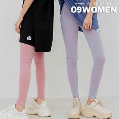 Seoul Fashion - Plain Colored Leggings