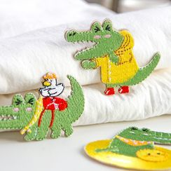 Aether - 刺绣鳄鱼拼布